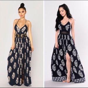 NWOT Miss Avenue Maxi Dress